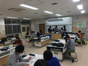 2月教室風景